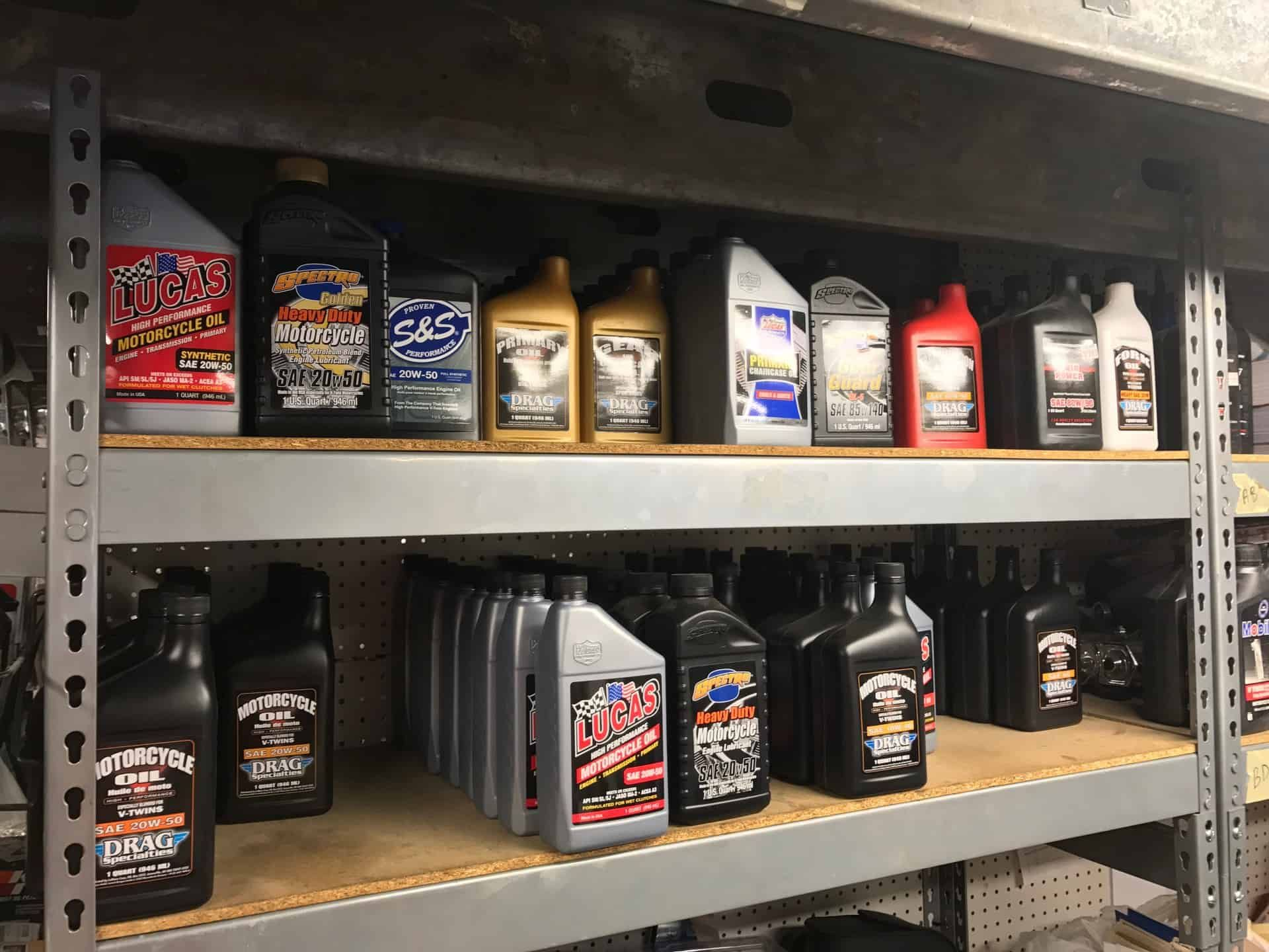 Oil and Filter  Changes at Knobtown Cycle