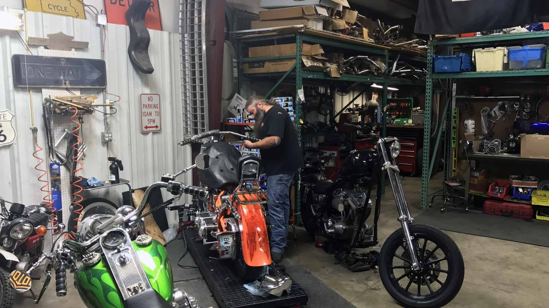 Motorcycle Restoration and Repir at Knobtown Cycle