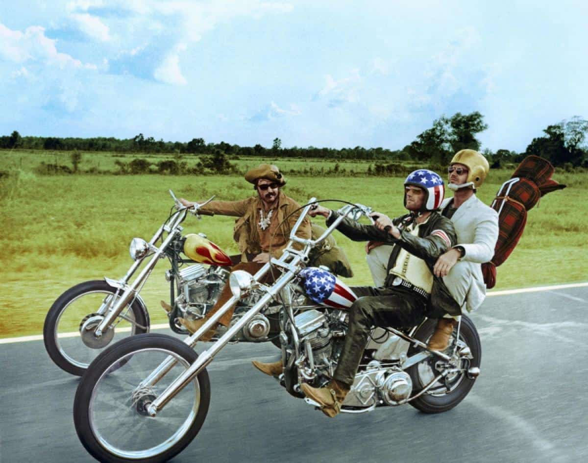 Captain America and Billy Bike Custom Choppers from Easy Rider