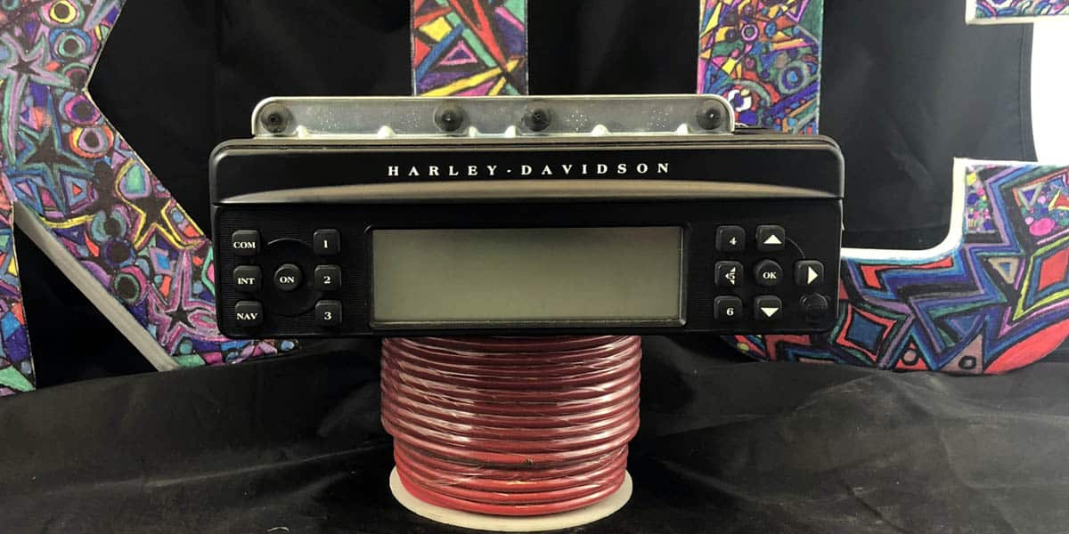 Harley Davidson Radio CD Player Harman Kardon HD