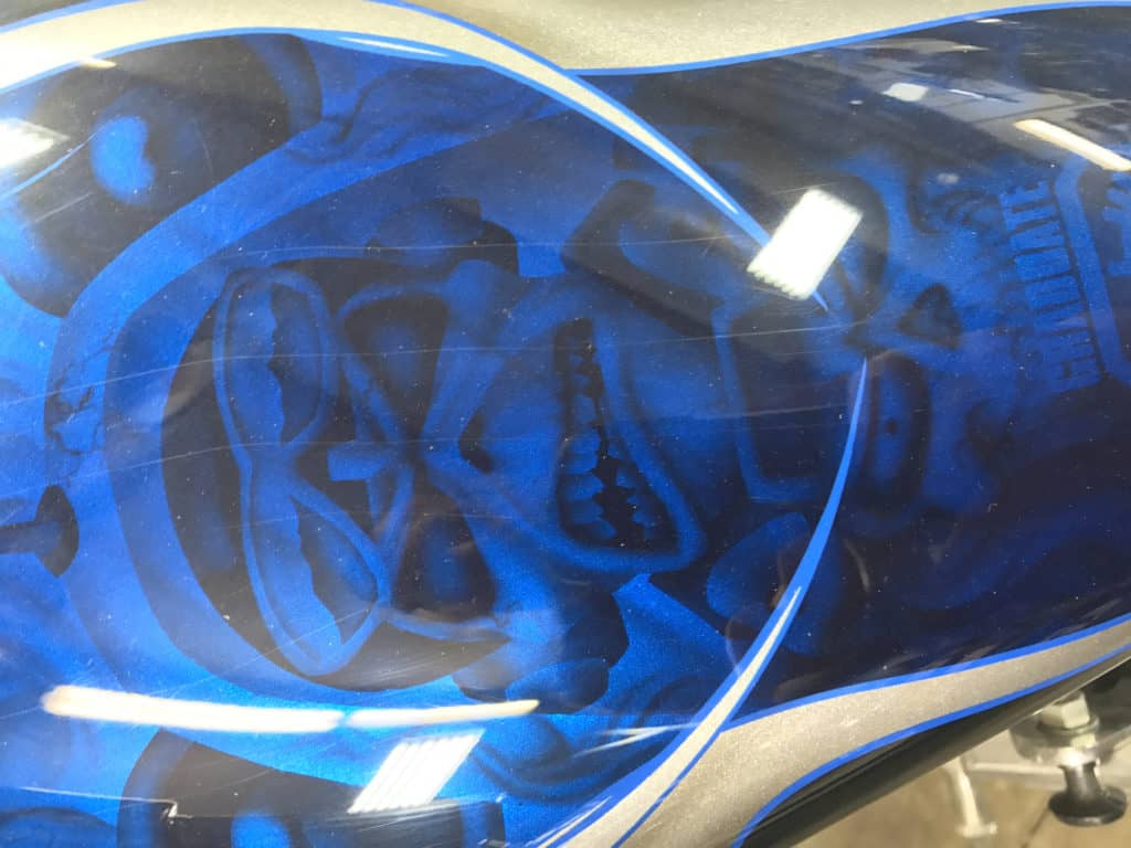 Cool Tank as seen at Knobtown Cycle