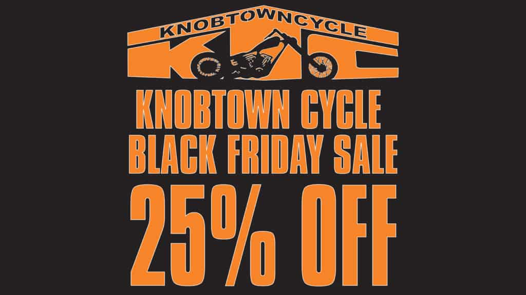 Black Friday Sale, BLACK FRIDAY 2019 SALE, Knobtown Cycle, Knobtown Cycle