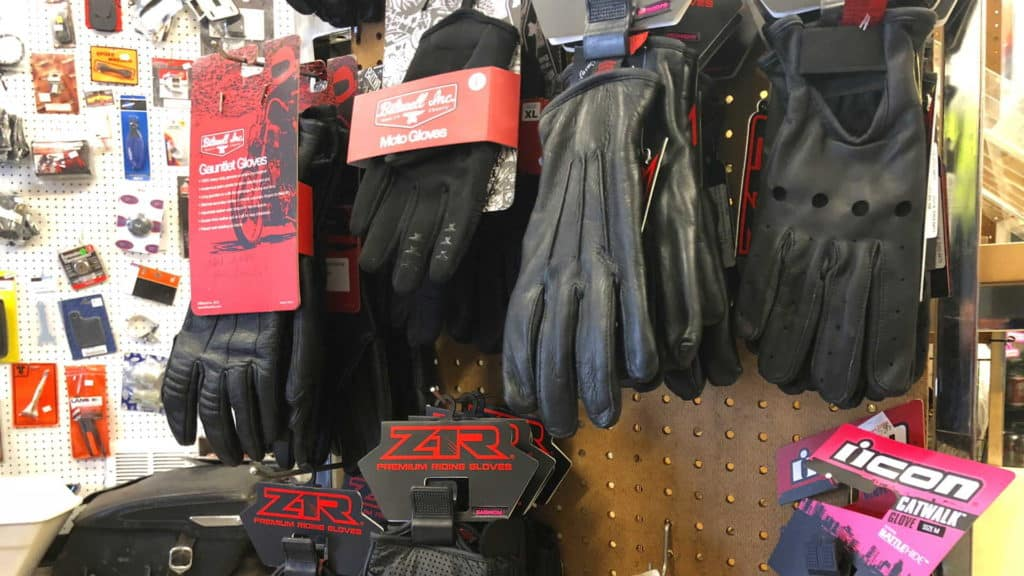 Motorcycle Riding Gloves at Knobtown Cycle Kansas City's Motorcycle Shop
