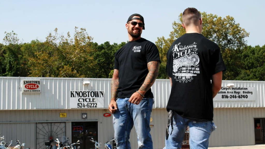 The New T-Shirts have arrived!, The New T-Shirts have arrived!, Knobtown Cycle, Knobtown Cycle
