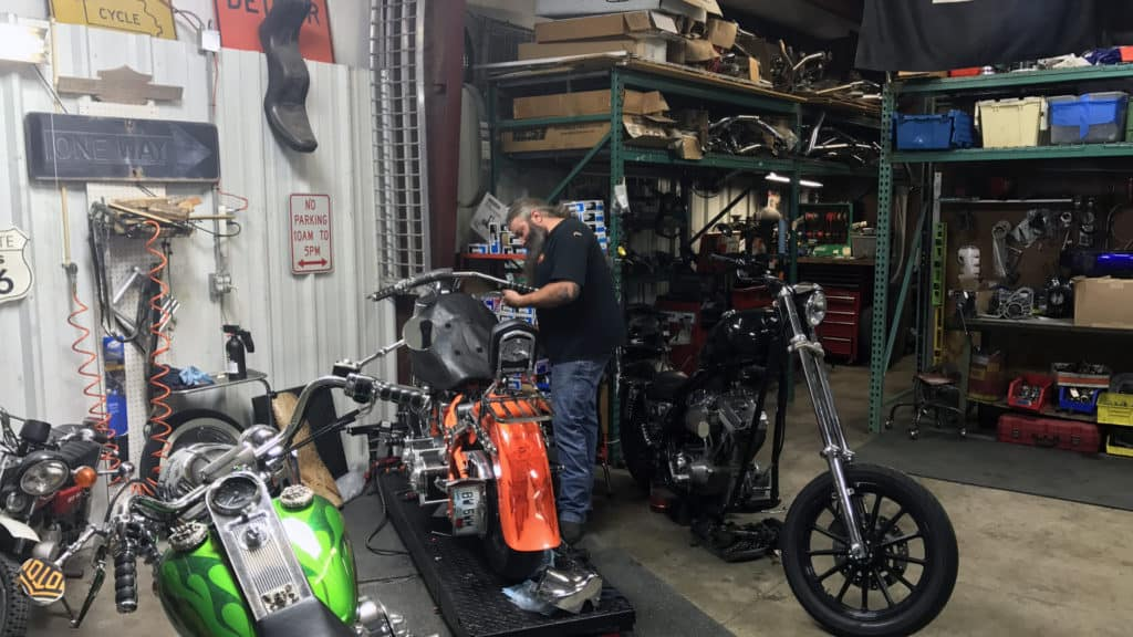 Motorcycle Accident Repair Shop, Motorcycle Accident Repair Shop, Knobtown Cycle
