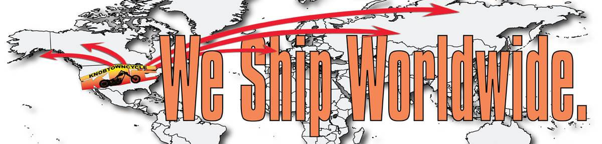 International Shipping Policy, International Shipping Policy, Knobtown Cycle