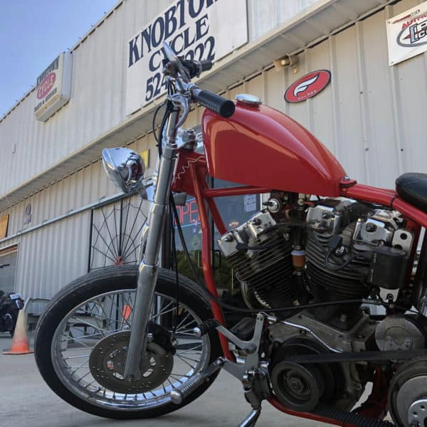 Custom Red Shovelhead